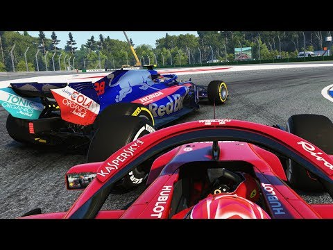 ANOTHER LAPPED CAR CRASHES! MASSIVE TYRE ISSUES FOR ENTIRE GRID! - F1 2018 Career Mode Part 95