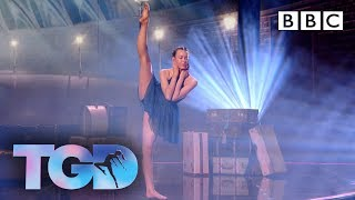 SUBSCRIBE to the OFFICIAL BBC YouTube channel: https://bit.ly/2IXqEIn LAUNCH BBC iPlayer to access Live TV and Box Sets: https://bbc.in/2J18jYJ   Ellie re-imagines the magic of her audition performance. She dances to In This Shirt by The Irrepressibles.   Leading the charge to discover the greatest dancer are three superstar dance captains - platinum-selling singer Cheryl, Broadway and Glee star Matthew Morrison and Strictly Come Dancing professional Oti Mabuse.  The series is hosted by singer and presenter Alesha Dixon and Jordan Banjo, member of multi-award-winning dance troupe Diversity.  The four finalists take to the stage one last time, competing to win £50,000 and a chance to dance on Strictly Come Dancing. This week the four remaining acts will start by performing a collaboration with their dance captain. One act will then be voted off the show. The remaining three acts will then perform a second time, reimagining the audition performance that won the hearts of the audience. Who will give the performance of a lifetime and become The Greatest Dancer?  The Greatest Dancer | Episode 8 | BBC  #TGD #TheGreatestDancer #OtiSquad