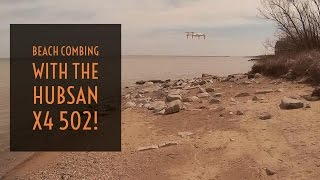Video Drone - Beach Combing with the Hubsan X4 502!