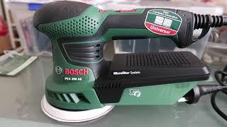 #3 - Bosch 270W PEX 300 AE Sander - Máy Mài Bosch