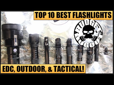 Top 10 Best Flashlights | EDC [Everyday Carry], Outdoor, & Tactical — All Price Ranges