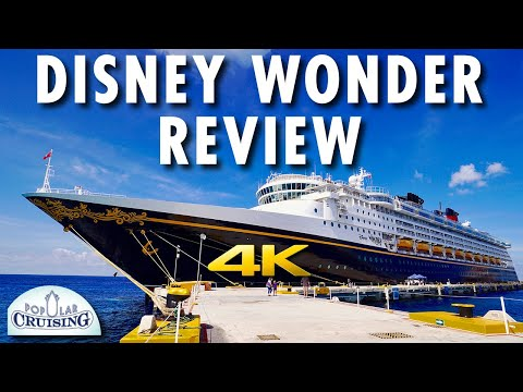Disney Wonder Tour & Review ~ Disney Cruise Line ~ Cruise Ship Tour & Review [4K Ultra HD]