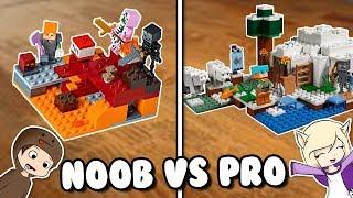 ¡SUSCRÍBETE AHORA! : https://goo.gl/tsb52Y Hola, soy Lyna! En este nuevo video de la serie Noob vs Pro les traigo de juguetes de Lego Minecraft! Es un video distinto pero espero que les guste! ♥ ↘️ ABRIR ↙️  CANAL DE JUGUETES: https://goo.gl/n8KLh5 CANAL DE DANI: https://goo.gl/gfJfZY  ¡SUSCRÍBETE A MIS OTROS CANALES!   ○ Comedia: https://goo.gl/KiJXqR ○ Vlogs: https://goo.gl/Fr9Lhf ○ Juguetes: https://goo.gl/n8KLh5 ○ Inglés: https://goo.gl/MH5owP  ¡SÍGUEME EN MIS REDES SOCIALES!  ○ Instagram: https://instagram.com/Lynavallejos ○ Twitter: https://twitter.com/srtalyna ○ Facebook: https://facebook.com/Lynayoutube