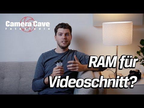 Arbeitsspeicher für Videobearbeitung aufrüsten - Wieviel RAM für Videoschnitt? - Kingston
