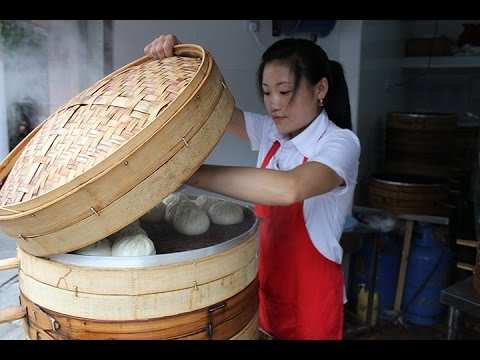 Chinese Street Food Breakfast