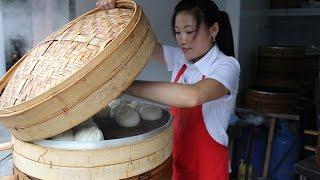 Chinese Street Food Breakfast