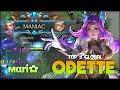 MANIAC Odette Virgo Perfect Burn HP ri Top 3 Global Odette Mobile Legends
