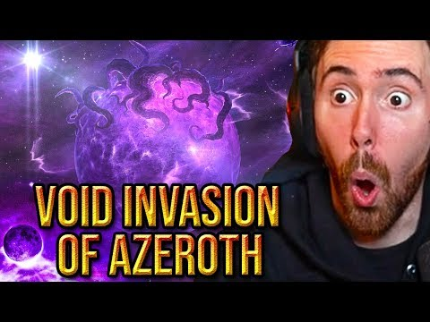 Asmongold Reacts To The Upcoming Void INVASION (Next WoW Expansion Speculations) - Bellular