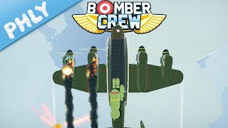 Bomber Crew - ENGINES FALLING OFF - London We Have a Problem (Bomber Crew Gameplay)