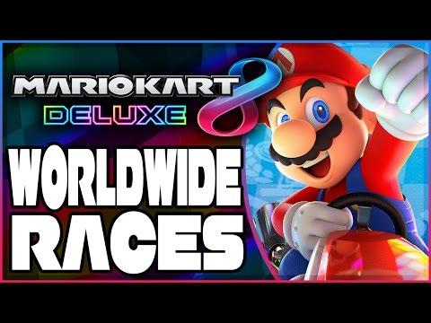 Abdallah vs. The World - Part 1   Mario Kart 8 Deluxe RANKED Worldwide Races!