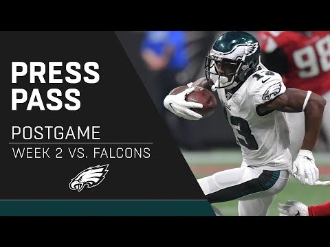 Eagles Players React to Loss to Falcons   Eagles Press Pass