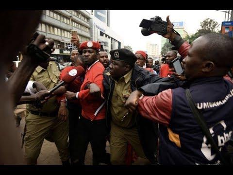 Museveni under fire for brutal crackdown on journalists, protestors over Bobi Wine detention