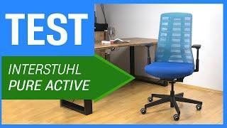 Der Interstuhl Pure Active im Test - Ergonomischer Bürostuhl fürs Homeoffice (mit Sensor)