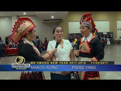 3 HMONG NEWS: MN Hmong New Year  2018 with Padee Yang and Maikou Xiong.