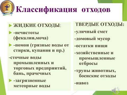 Лекция. ГИГИЕНА ПОЧВЫ И ОЧИСТКА НАСЕЛЕННЫХ МЕСТ.