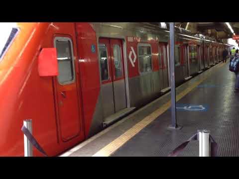 CPTM Série 8000 (S088) partindo da estação Palmeiras Barra Funda
