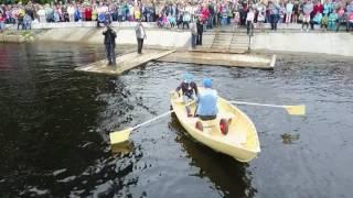 Устье. День лодки, спуск на воду