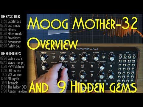 9 Hidden Gems in the Moog Mother-32 - YouTube