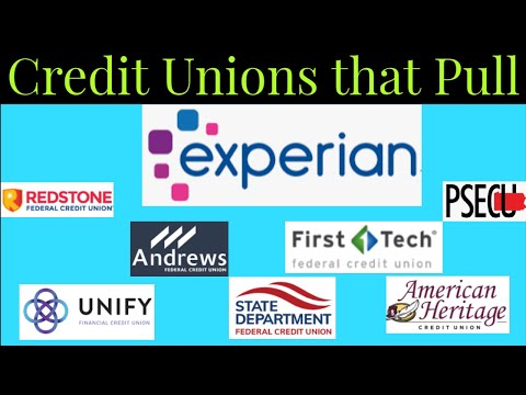 Top 10 Credit Unions that Pull Experian for Credit Approvals!