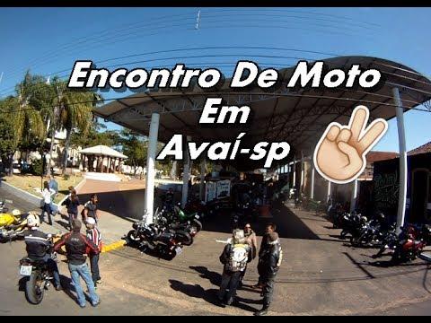 Encontro De Motos Em Avaí-SP