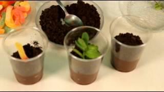 Dessert au chocolat pour la Journée de la Terre