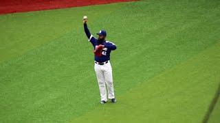 ロペスのホームランを投げ返されるも横浜ファンに渡す中日アルモンテの神対応