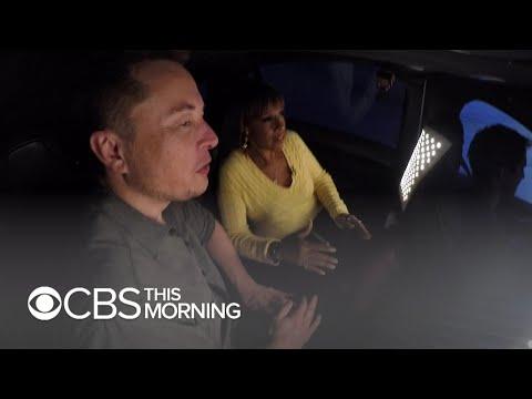 Projížďka tunelem budoucnosti Elona Muska - Svět Elona Muska