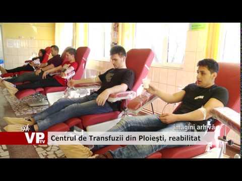 Centrul de Transfuzii din Ploieşti, reabilitat