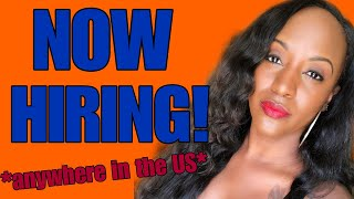 $21 Hourly Work From Home Job, Anywhere In The US!