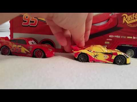 Cars 3 part 4 Florida 500 mcqueen beats Jackson storm and wins and Cruz remerez crash
