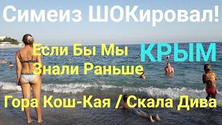 КРЫМ Симеиз Нас ШОКировал! Это Ужас Кошка скала Дива / Крым Реалии Crimea