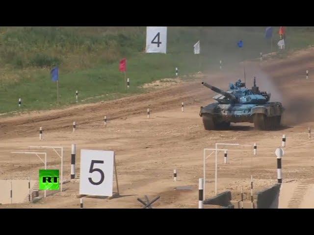 International Army Games 2018: Tank biathlon (day 2)