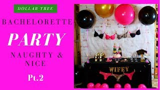 DIY Bachelorette Decoration Ideas (Naughty & Nice Pt.2)