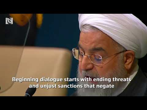 Rouhani: Iran wants no sanctions or bullying