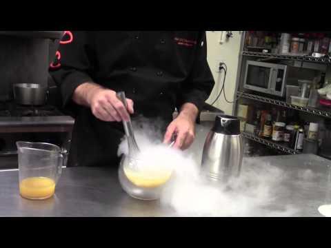 Molecular Gastronomy Liquid Nitrogen Citrus Sorbet Recipe