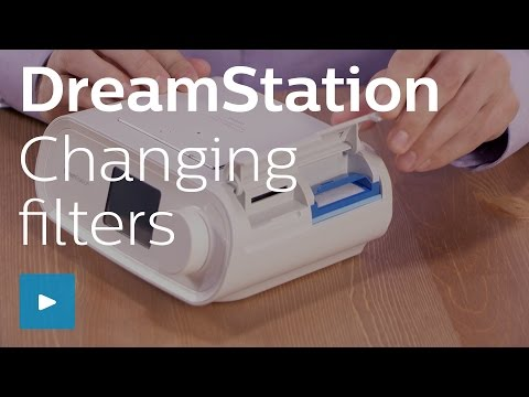 Image of DreamStation changing filters video