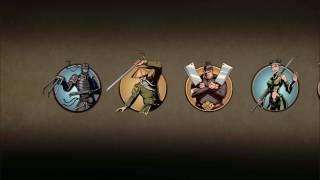 СЁГУН мультик для детей про бой с тенью РЫСЬ ОТШЕЛЬНИК ВДОВА ОСА МЯСНИК игра Shadow Fight 2 от КИДа