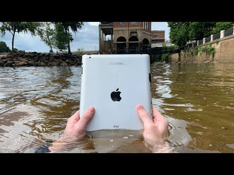 Found iPad Underwater While Searching Drained River! VR180 (River Treasure)
