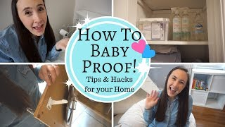 HOW TO BABY PROOF YOUR HOUSE! Cheap Tips & Hacks to Baby Proof