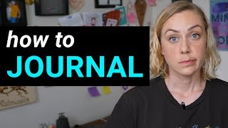 How to Journal: Start Here | Kati Morton
