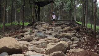 preview picture of video 'Mountain Biking UCI  World Cup XC 2011 Rock Garden, Pietermaritzburg.mov'