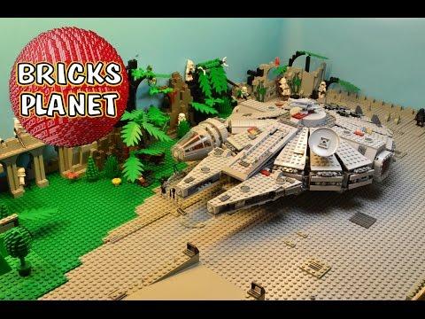 Vidéo LEGO Star Wars 7965 : Le Faucon Millennium