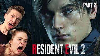 Scared Buddies Try To Survive in Resident Evil 2