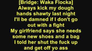 DJ Khaled - I'm Thuggin [Feat. Waka Flocka Flame & Ace Hood] (Lyrics)