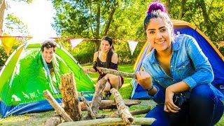 ESCAPE TO CAMP BY OURSELVES | LOS POLINESIOS VLOGS