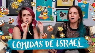 Experimentando DOCES DE ISRAEL!! Feat GABRIELA FADEL   Karen Bachini