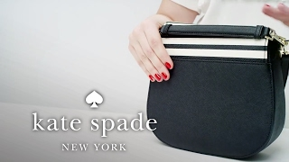 How To Personalize Your Bag: The Byrdie Crossbody | Kate Spade New York