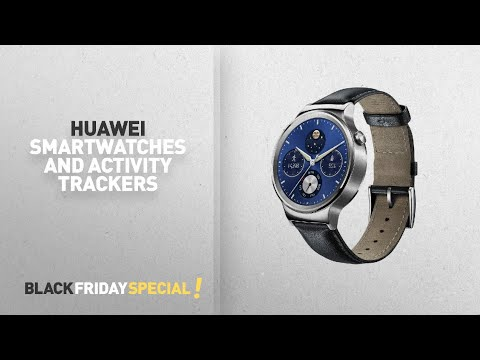 Black Friday Huawei Smartwatches And Activity Trackers: Huawei W1 Stainless Steel Classic Smartwatch