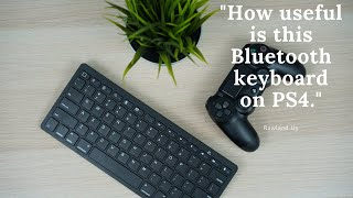 How to connect Bluetooth Keyboard to PS4.