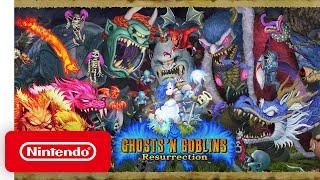 Ghosts 'n Goblins Resurrection – Announcement Trailer – Nintendo Switch